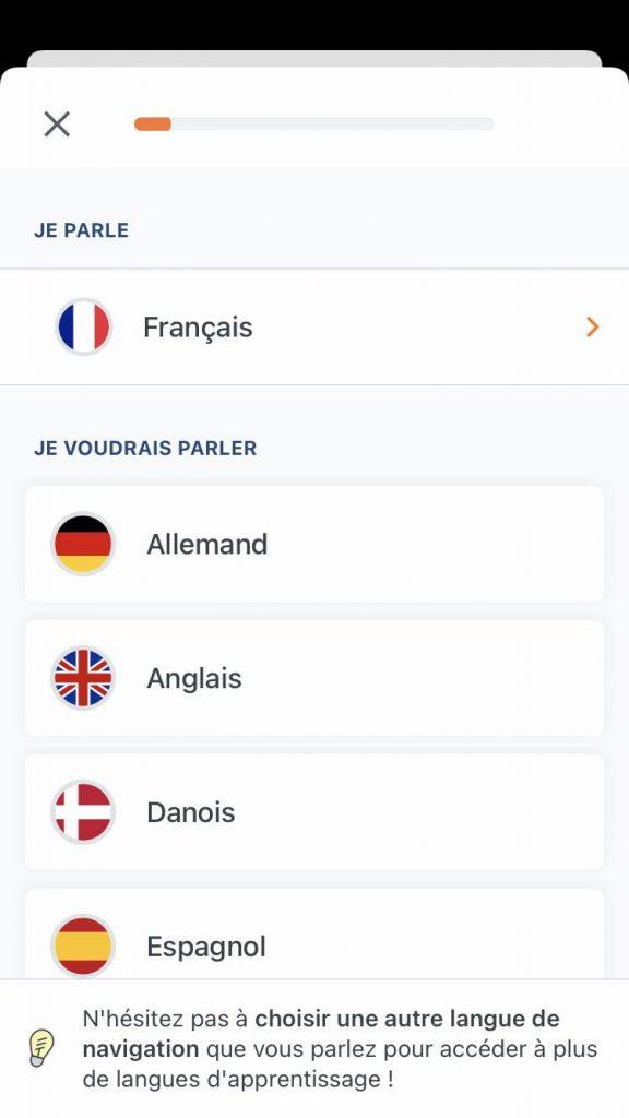 Les langues disponibles avec Babbel