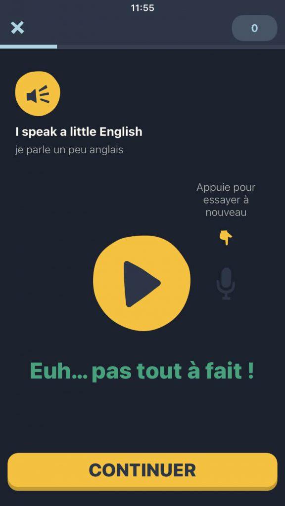 prononciation orale :bonne ou pas
