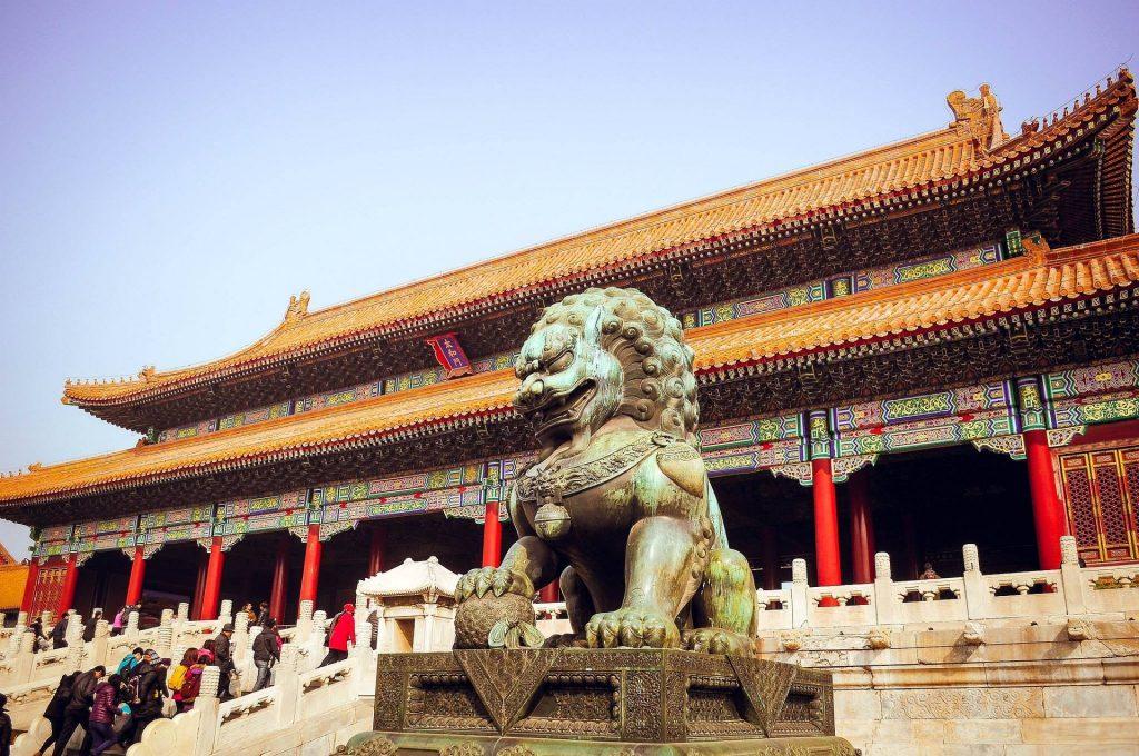 Un temple en Chine