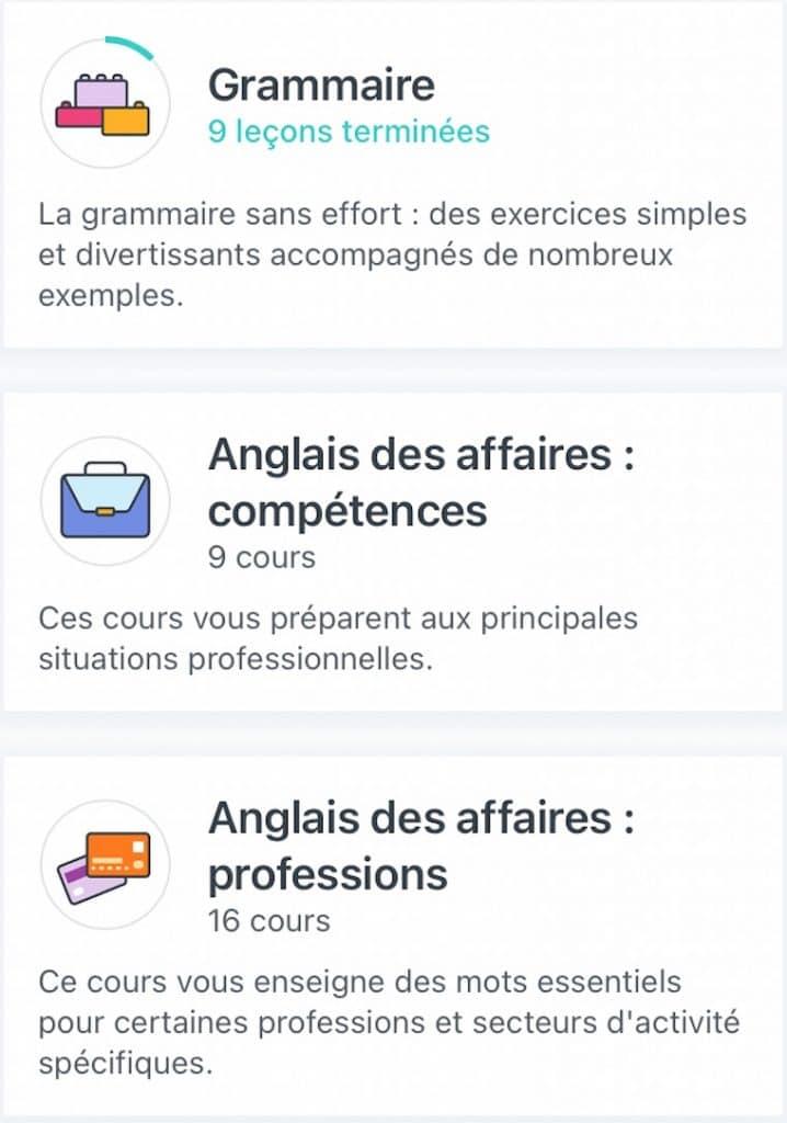 Babbel ou Duolingo ? les cours complémentaires