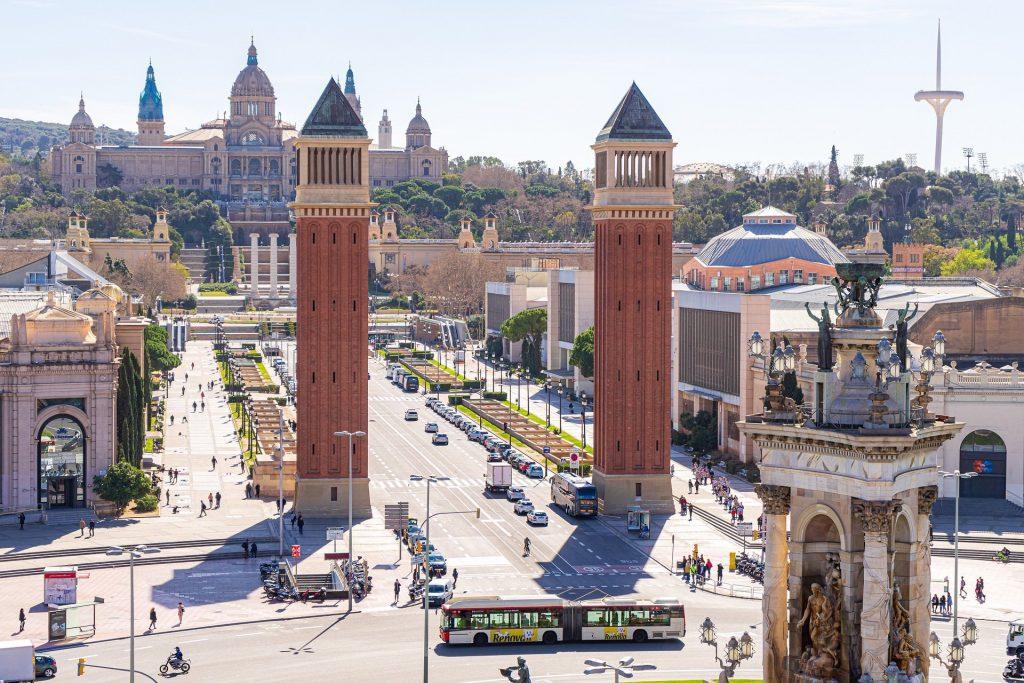 La ville de Barcelone en Espagne