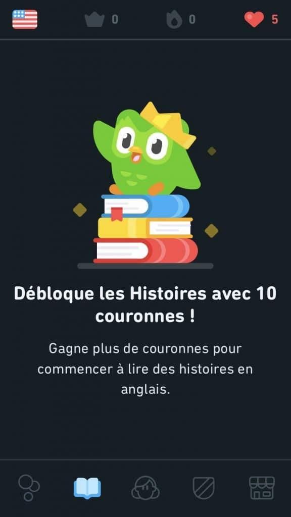 Débloquer des histoires pour apprendre une langue
