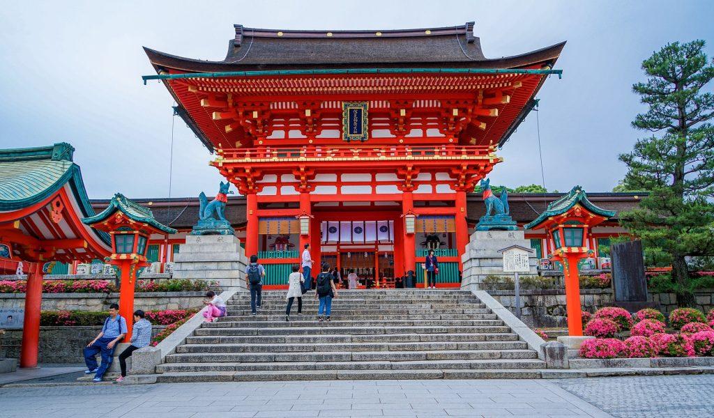 Un temple japonais à Kyoto