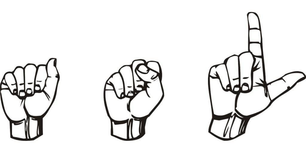 exemple de langues des signes
