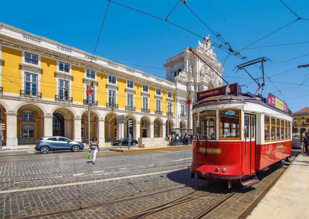 La ville de Lisbonne pour apprendre le portugais