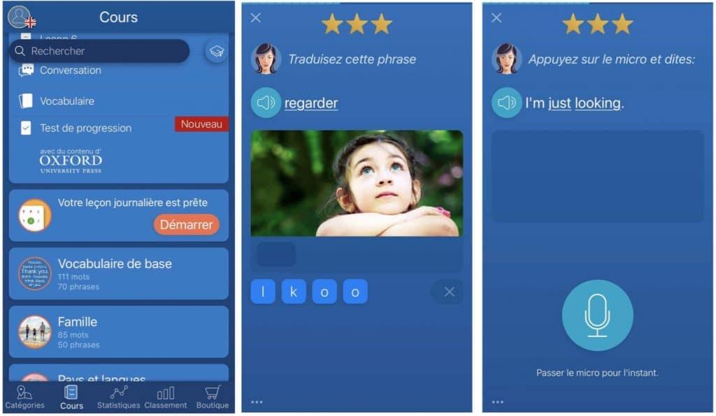 Mondly une application pour apprendre l'anglais et 40 autres langues