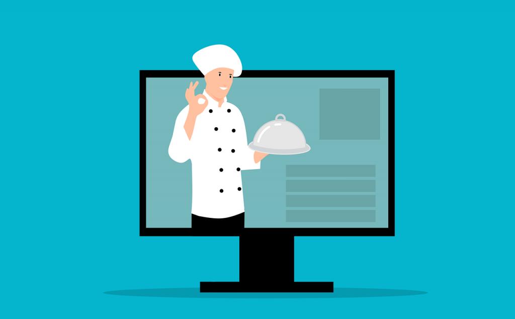 regarder des recettes de cuisines à la télé