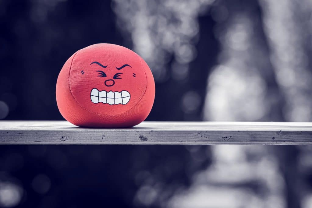 ne jamais apprendre quand on est énervé