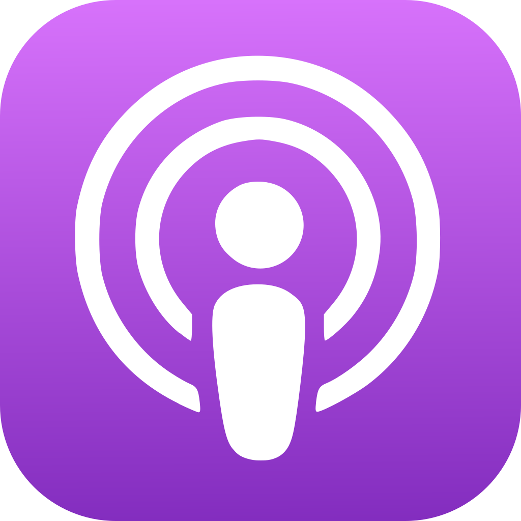 l'application podcast d'Apple