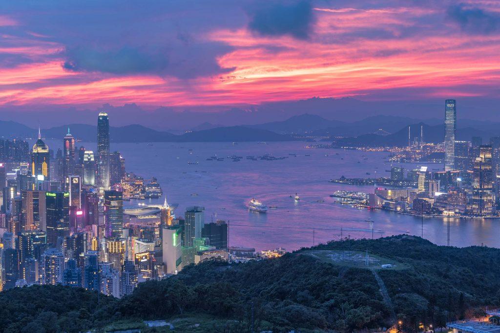 L'anglais à Hong Kong