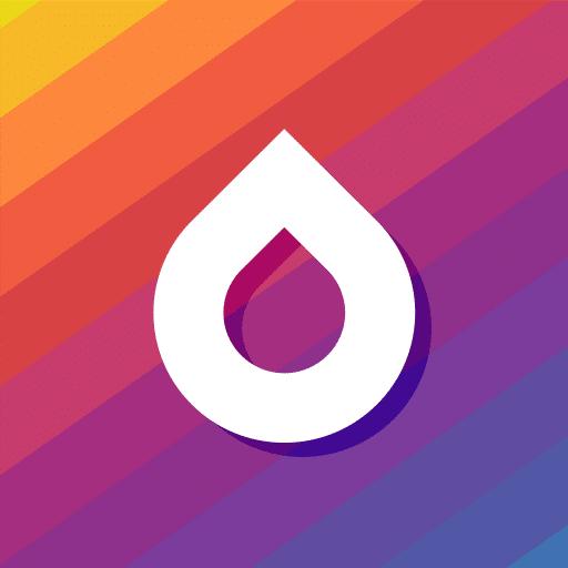 Drops, logo de l'application