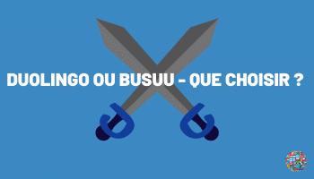 Duolingo vs Busuu
